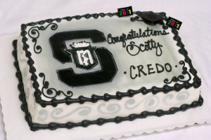 Black Graduation Cake Servite High School