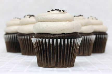 Gluten-Free Chocolate with Chocolate Mousse Cupcake
