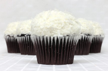 Gluten-Free Chocolate with Coconut Cupcake
