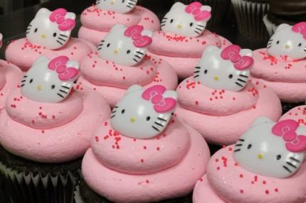 Hello Kitty Cupcakes Pink