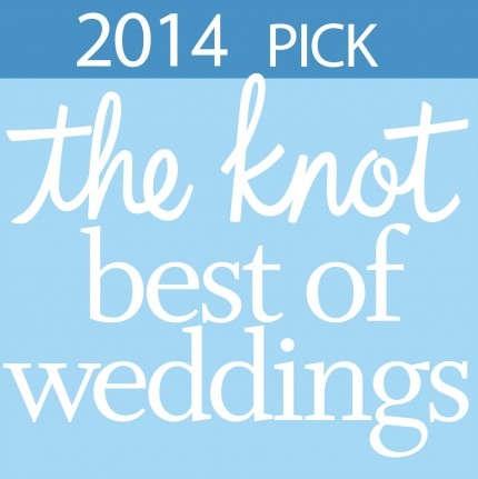 The Knot best of weddings logo 2014